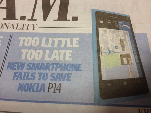City AM on Nokia's results