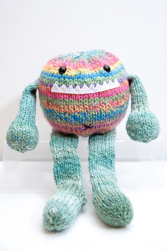 Tony the Handspun Toy-Box Monster