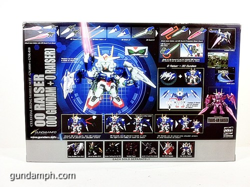 SD Gundam Online Capsule Fighter Trans Am 00 Raiser Rare Color Version Toy Figure Unboxing Review (2)