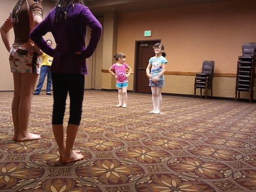 Leading their ballet funshop