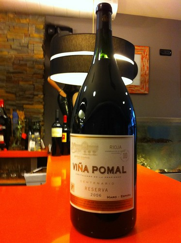 Sorteo de una botella de 6L de Viña Pomal Reserva 2006, informáte. by Pazo Doval Marisqueria
