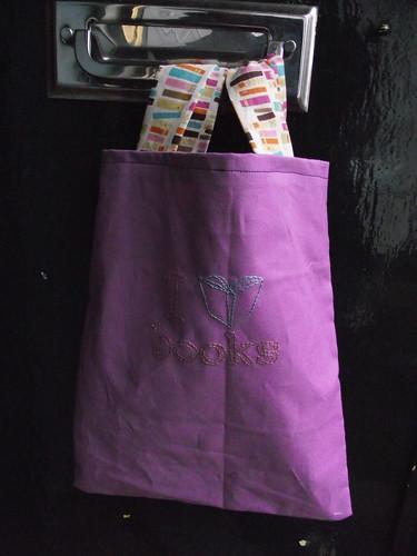I <3 books bag