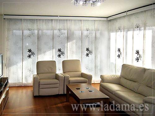 Decoracin para Salones Modernos Cortinas Paneles Japone