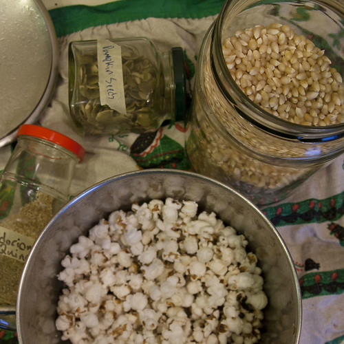 Pumpkin Seeds, Quinoa, Popcorn