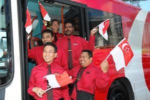 SMRT staff: One people, one nation, one Singapore; regardless of language, race or religion