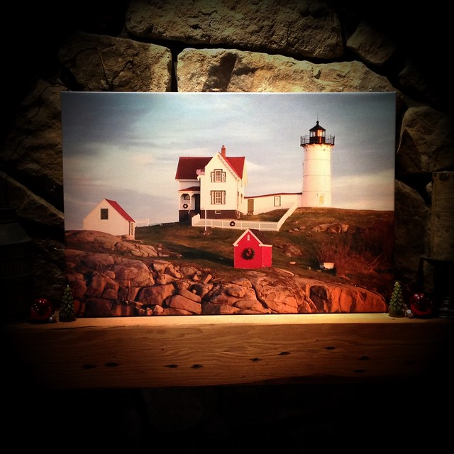 Nubble on canvas