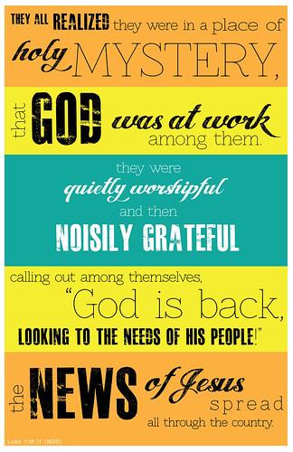 luke 7:16-17