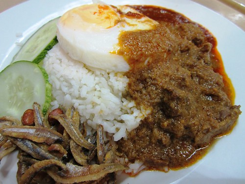 KLIA nasi lemak special