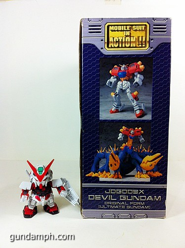 MSIA Devil Gundam First Form Unboxing Review Huge (4)