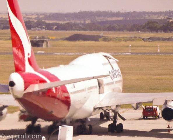 Qantas A388 Melbourne