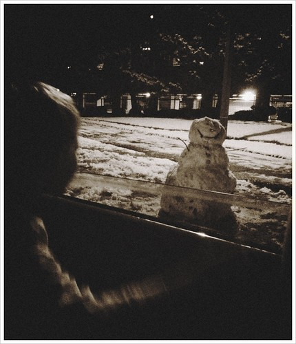Checking Up On Snowman