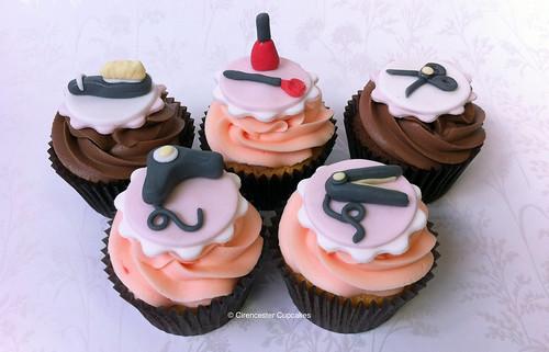 Cirencester Cupcakes - Hair Stylist Cupcakes