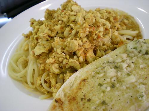 MeltingPot pasta with rendang sauce