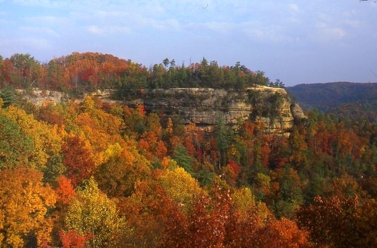 Kentucky Fall Wallpaper Elevation Of Natural Bridge Rd Slade Ky Usa