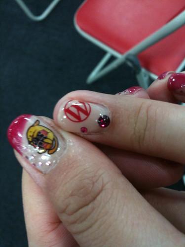 WordCamp Tokyo Nails!