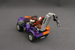 6864 The Batmobile and the Two-Face Chase - Truck 6