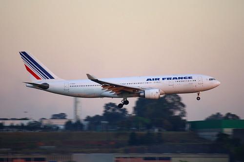 Airbus A330-200 da Air France @ SBGR