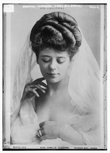 Camille Clifford (Mrs. H.L. Bruce) (Mrs. J.M.J. Evans) (LOC)