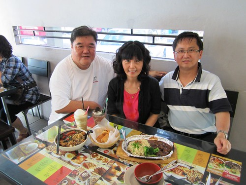 With Mary & hubby