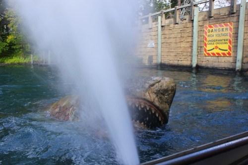 Jaws burnt shark