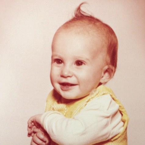 Tiny Me #1970s #selfportraits