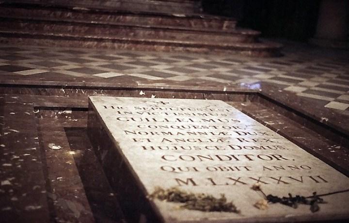 La tombe de Guillaume le Conquérant