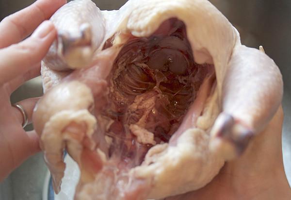inside cavity