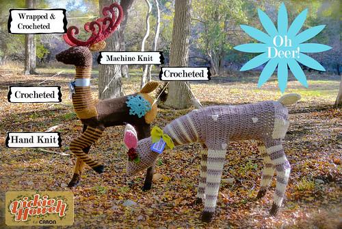 Yarn deer chart