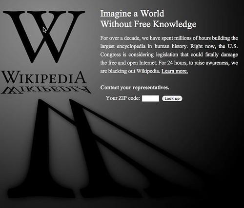 wikipediaSOPA