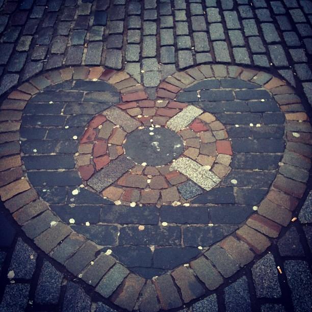 Love in Edinburgh.