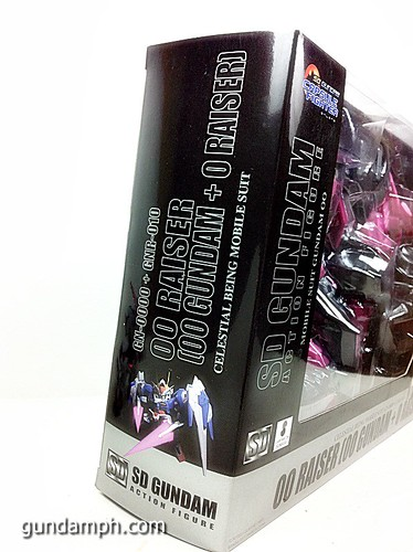 SD Gundam Online Capsule Fighter Trans Am 00 Raiser Rare Color Version Toy Figure Unboxing Review (6)
