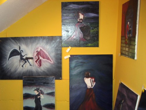 Goth paintings