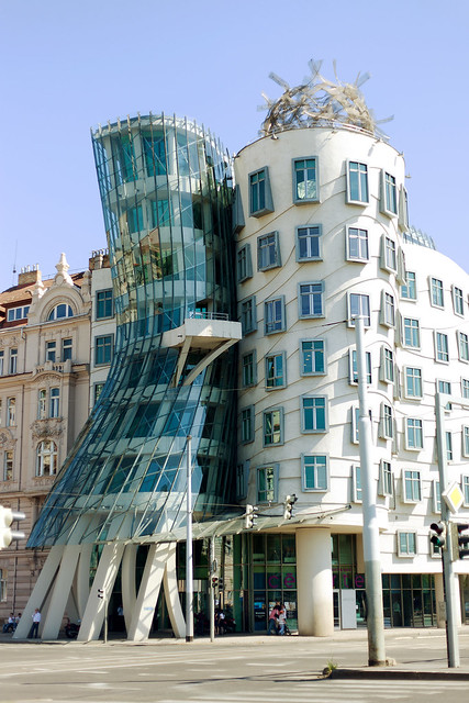 The Dancing Building, Prague.