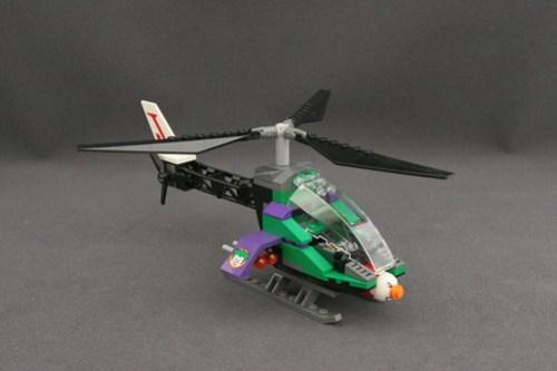 6863 Batwing Battle Over Gotham City - Joker's Helicopter 1