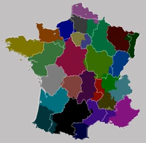 Mòbils i departaments - França