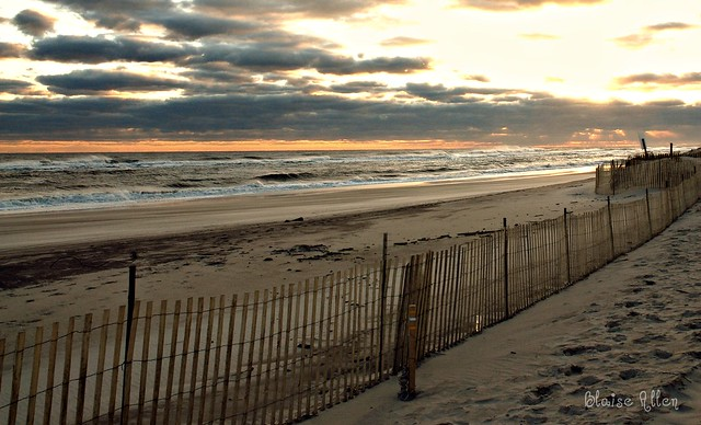 Robert Moses Field 5, Winter 2011 Sunset