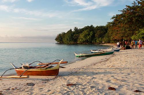 Boats at Isla Reta