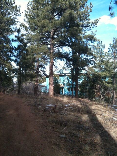 McMansion being built just off the hiking trail