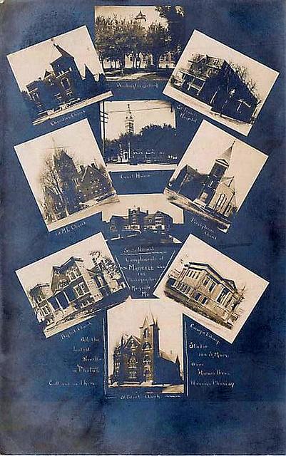 Maryville Missouri Churches Around 1900