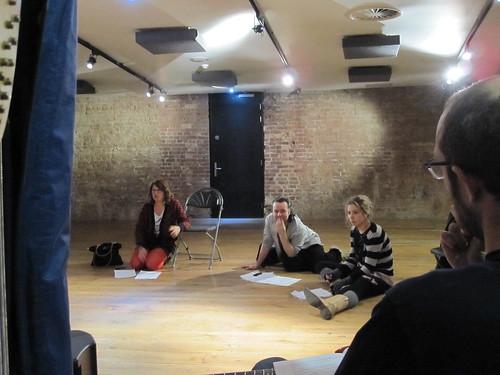 Rehearsing for soundbites