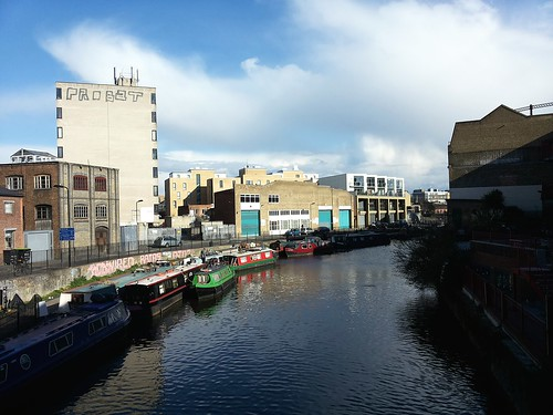 Canal in Hackney | Travel | East London Street Food Tour