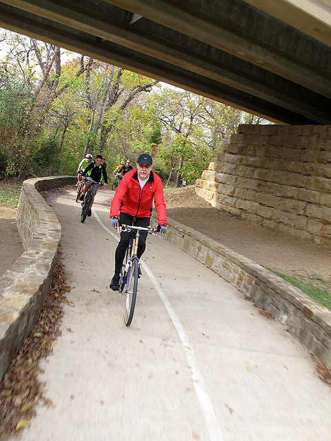 Black Friday Ride - Spring Creek Park - Under The DART