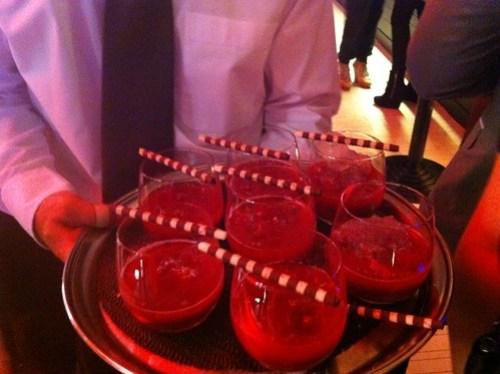 Cherry & vodka cocktails