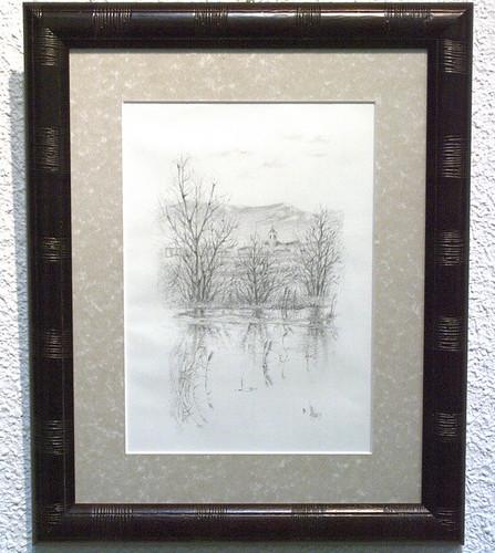 Foto de uno de las obras de la exposición
