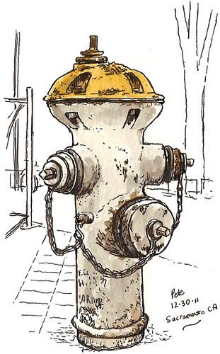 hydrant sacramento, K street