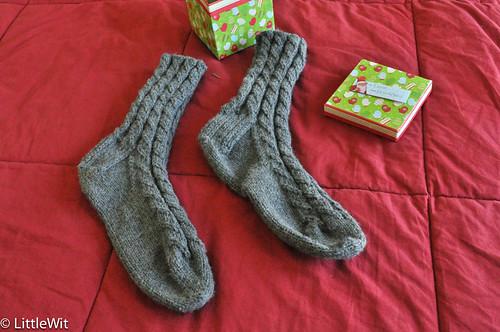 Dave's Grey Socks