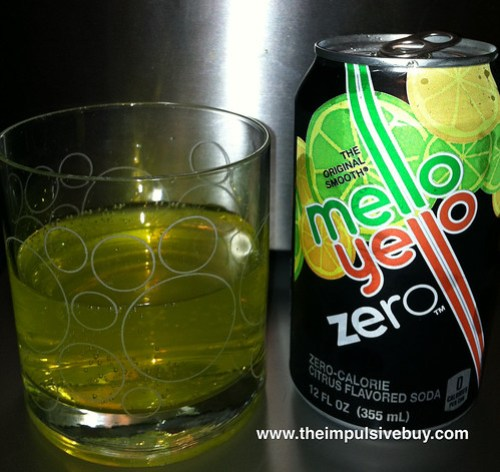 Mello Yello Zero Closeup