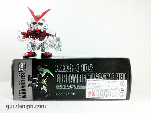 SD Gundam Online Deathscythe Hell Custom Toy Figure Unboxing Review (3)