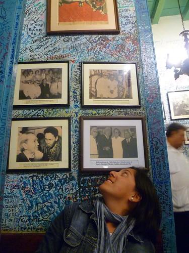 4/1/2012 - La Bodeguita del Medio - Habana Vieja (Havana/Cuba)