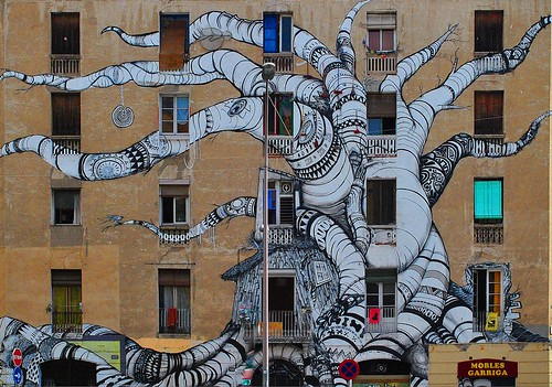 Barcelona Mural  by chrisshots